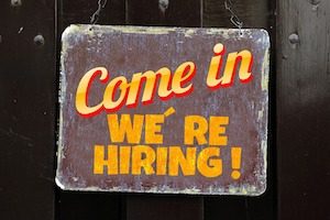 Come In We're Hiring