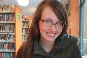 Librarian Melissa Beck